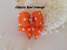 """Schleife """" Classic Bow Orange """""""