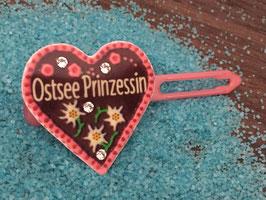 "MotivSpange "" Oktoberfest  Ostsee Prinzessin  Rosa mit SWK Kristall """