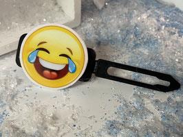"""Emotion / Smiley HundeHaarSpange  """" Hahaaaaa Smiley """""""