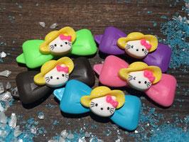 Sommerhüte HundehaarSpangen Nr 6 ( Kittyhut gelb)