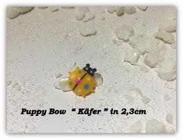 "HundeHaarSpange Mini Puppy Bow   "" Marienkäfer Gelb     """