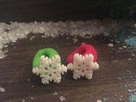 Zopfgummi: Schneeflocke  Nr. 3