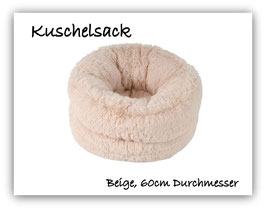 """Kuschelsack """" super  flauschig """" beige """""""
