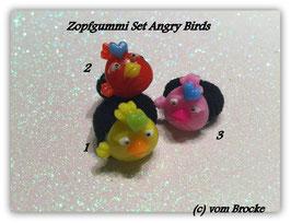 Zopfgummi Set Angry Birds