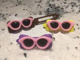 """HundehaarSpange """" Rosa Sonnenbrillen """"  Nr . 10"""