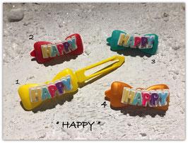 """HundeHaarSpangen """" Happy Birthday HAPPY 2 """""""