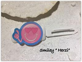 """Emotion / Smiley HundeHaarSpange  """" Herzi """""""