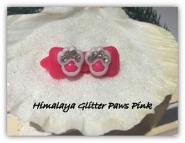 """HundeHaarSpange  """" Himalaya Gitter Paws Pink """""""