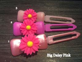 "Hundehaarspange  Blume "" Big Daisy Pink Nr.5 """