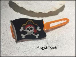"HundehaarSpange "" Angst - Pirat  """