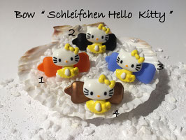 "HundeHaarSpange  Hello Kitty "" Schleifchen Hello Kitty  gelb mehrfarbig """