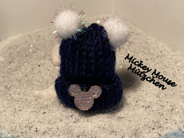 Wintermützchen MickeyMouse Kopf Nr 7