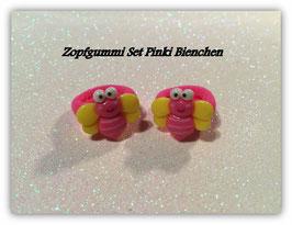 Zopfgummi Set Bienchen Pink