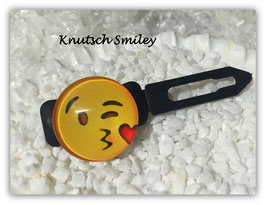 "Emotion / Smiley HundeHaarSpange  "" Knutsch Smiley """