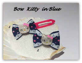 "HundeHaarSchleifen  Hello Kitty  "" Kitty in Blue """