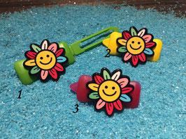 "HundehaarSpange Sonne   "" Happy Sunflower Nr. 3 """