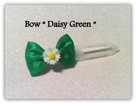 "Ausstellungs- / Stoffschleife  "" Spring Bow  Daisy  White"" No 8"