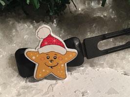 Mini-Preis-Hundespangen: Weihnachten Nr 1.
