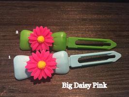 "Hundehaarspange  Blume "" Big Daisy Pink Nr. 6 """