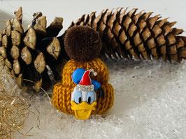 Wintermützchen mit Donald und Mützchen mit Rhinestone Mais