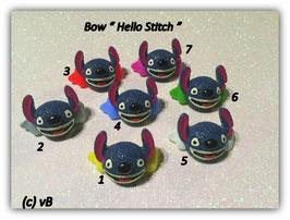 "HundehaarSpange "" Hello Stitch  """