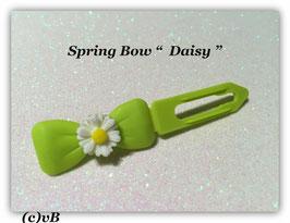 HundeHaarSpange Blume Grüntöne  Nr. 5  French Daisy(1)