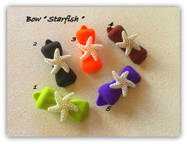 """HundehaarSpange Meer  """" Starfish Beige """""""