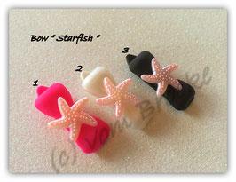 """HundehaarSpange Meer  """" Starfish Rosa """""""