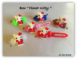 "HundeHaarSpange  Hello Kitty "" Flower Kitty  """