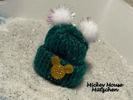 Wintermützchen MickeyMouse Kopf Nr 13