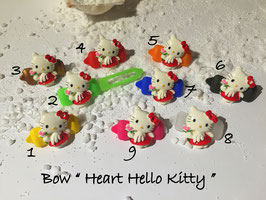 "HundeHaarSpange  Hello Kitty "" Heart Hello Kitty  """