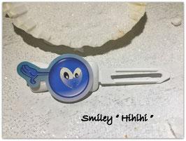 "Emotion / Smiley HundeHaarSpange  "" Hihihihiihi """