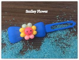 "HundehaarSpange Sonne   "" Smiley Flower Nr .4  """