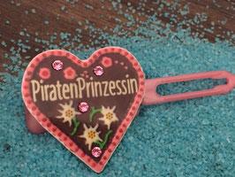 "MotivSpange "" Oktoberfest Piraten Prinzessin  Rosa  mit SWK Pink """