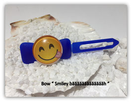"Emotion / Smiley HundeHaarSpange  "" Smiley  bääääääh """
