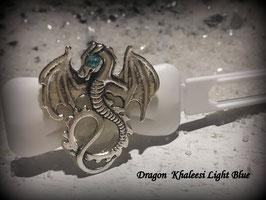 "Dragon Time   "" Dragon Silber mit blauem SWK Auge """
