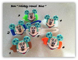 "HundeHaarSpange  "" Mickey  Mousi  Blue"""
