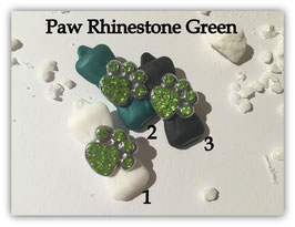 """HundeHaarSpange mit MetallApplikation """" Special Edition Green """""""