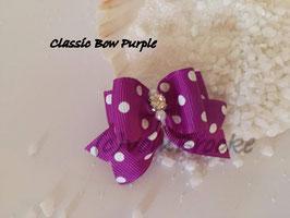 "Schleife "" Classic Bow Purple  """