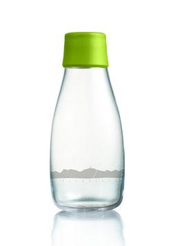 Glastrinkflasche inkl. Verschluss