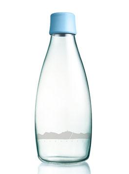 Glastrinkflasche inkl. Verschluss / zur Zeit nicht verfügbar
