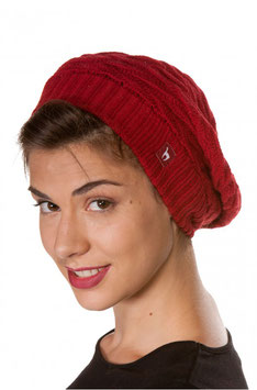 Beret BIESEN - Damen Basken-Mütze aus reinem Alpaka