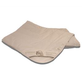 Alpaka-Bettdecke Bio -  gefüllt und versteppt mit 100% Alpakawolle