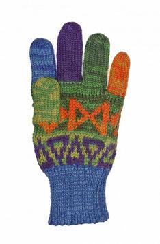 Kinder Finger Handschuhe AQUARELL für Mädchen und Jungen 4-9 Jahre