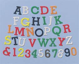 Buchstaben & Zahlen Set
