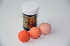 Pastenfarbe Orange (Peach)