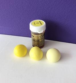 Pastenfarbe Gelb