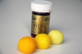 Pastenfarbe Gelb (Melon)