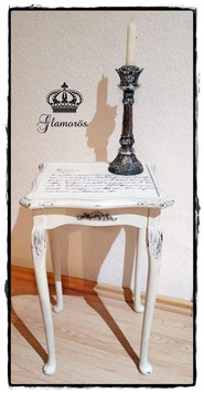 Glamorös - Beistelltisch Chippendaleart