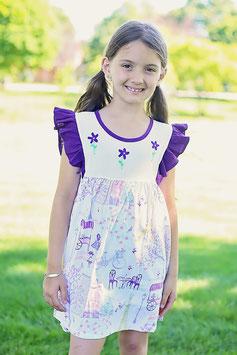 Jenny Purple  Paris Dress